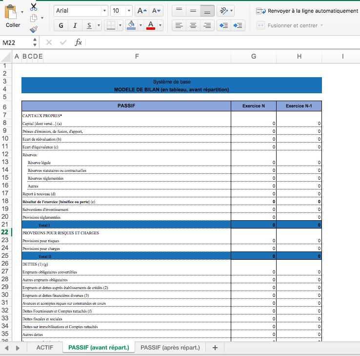 modele bilan comptable 1