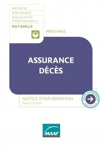 cg assurance deces maaf
